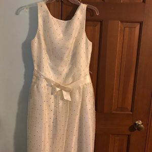 Off white Papell Evening Boutique Dress -12